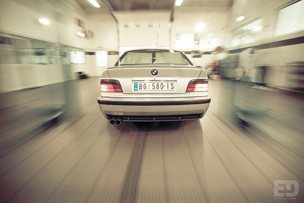 BMW E36 Rolling shot
