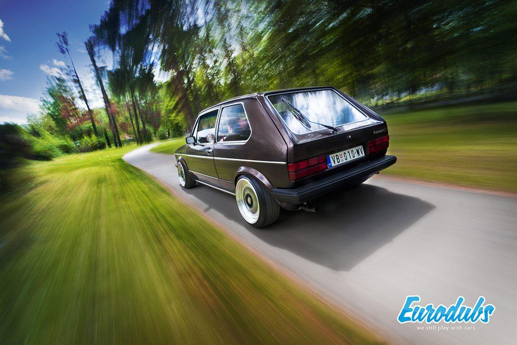 VW Golf MK1 Rolling shot