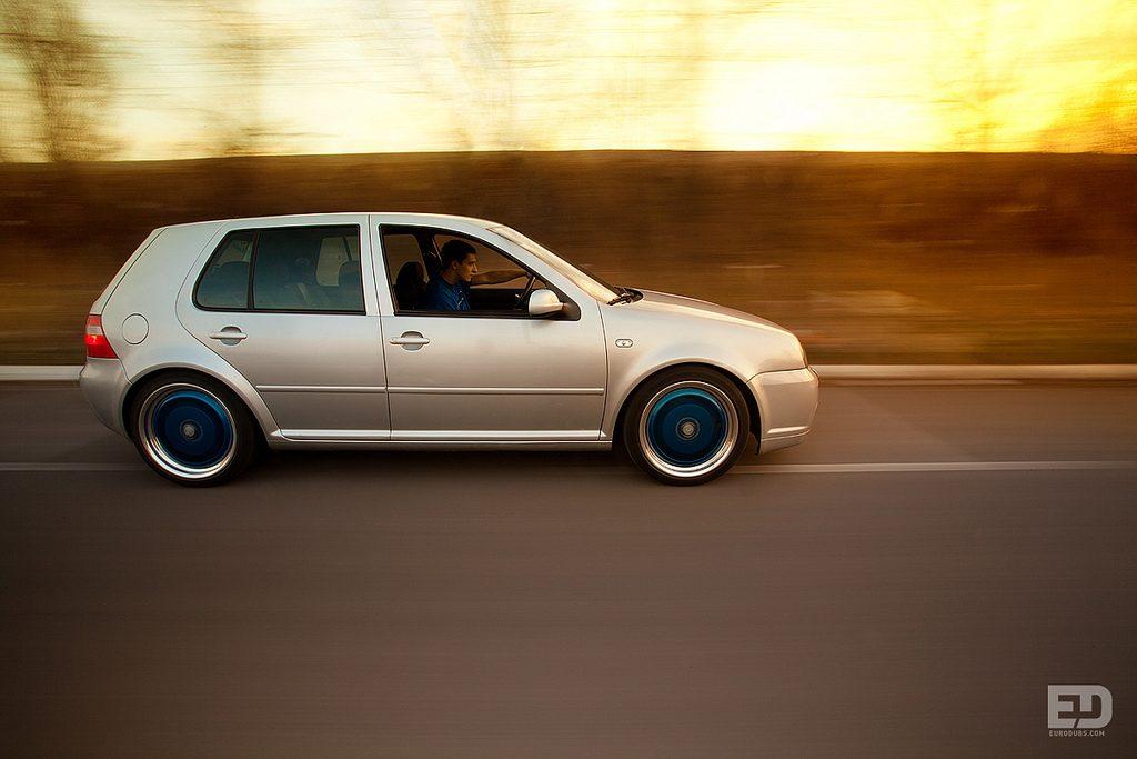 VW Golf MK4 Rolling shot