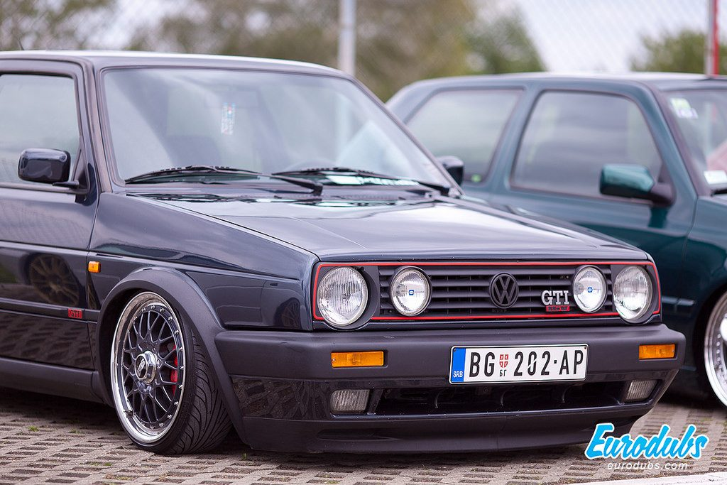 VW Golf MK2 BBS RC041