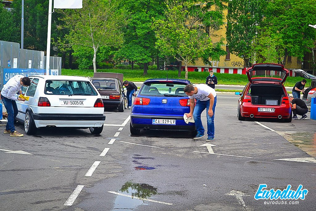 Wagenfest 2014 cleaning dubs