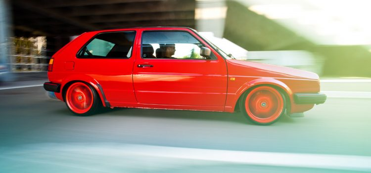 VW Golf MK2 GTI, by Aleksandar Garic