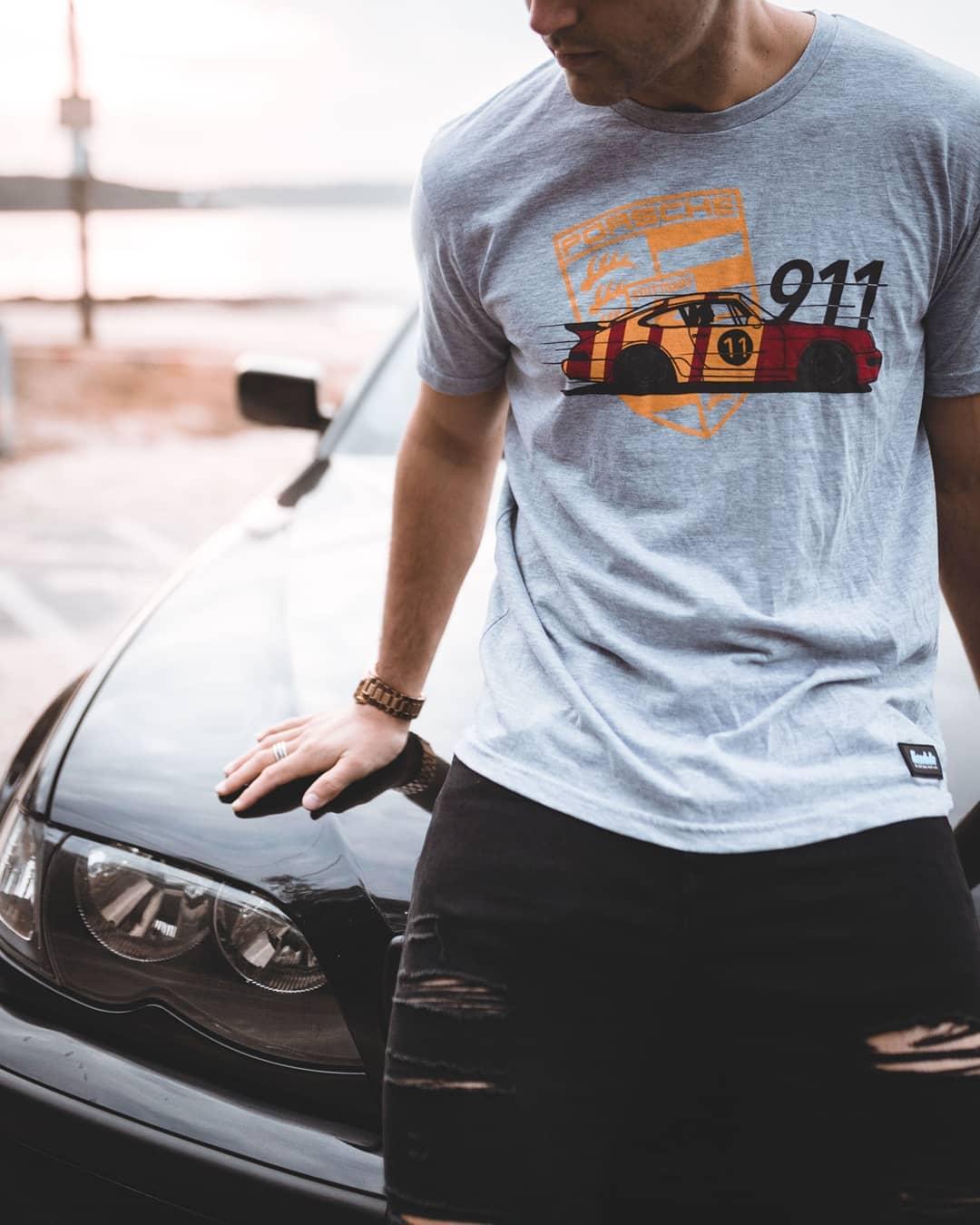 Eurodubs Porsche 964 t-shirt