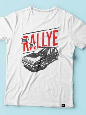 Golf MK2 Rallye G60 tshirt