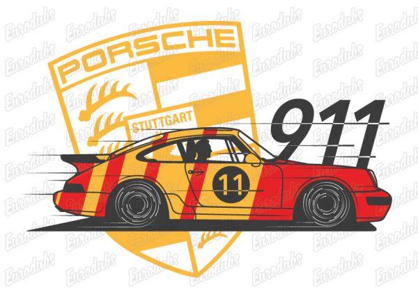 porsche 911, 964 design