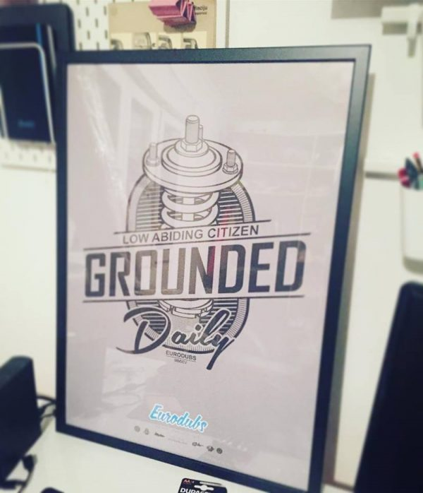 Poster Grounded Daily