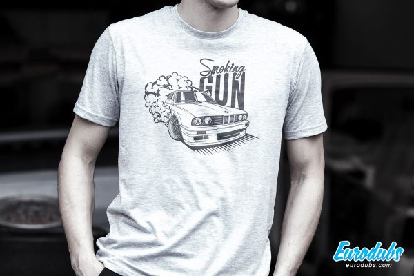 Smoking GUN BMW E30 t-shirt