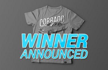 Corrado t-shirt contest winner