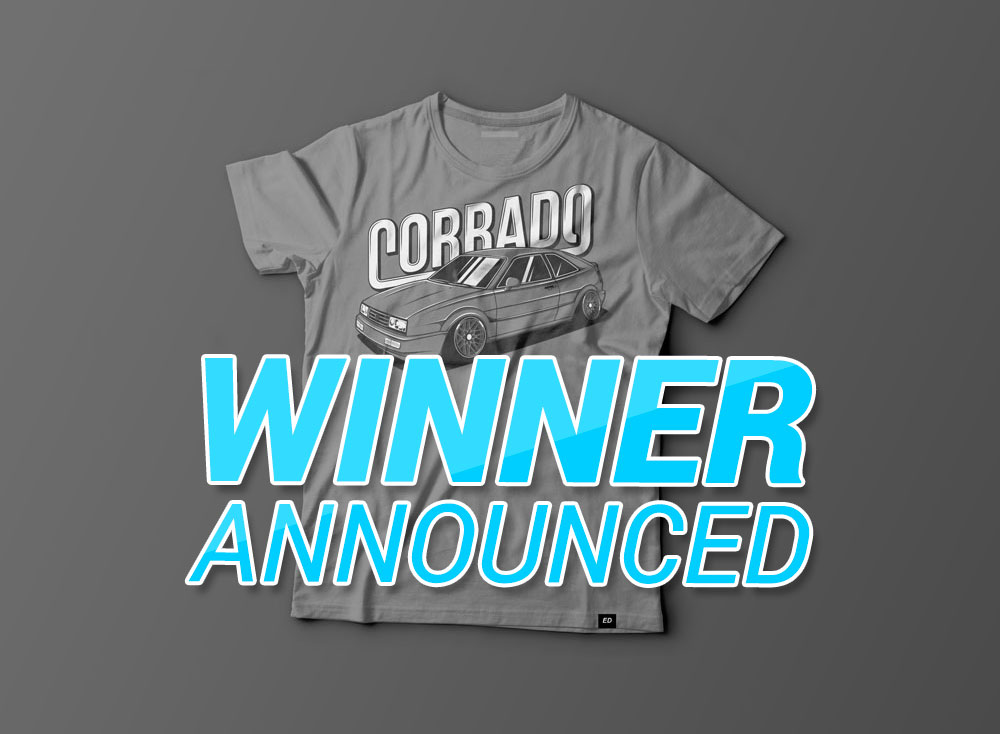 Corrado t-shirt contest winner