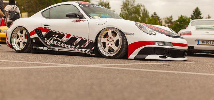 Porsche 911 at Faak Am See
