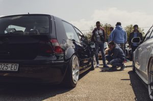 VW Golf MK4 on 3DSM wheels