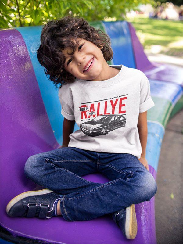 Kids Golf Mk2 Rallye t-shirt