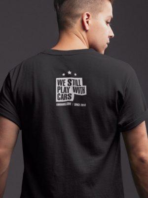 back print black Eurodubs t-shirt
