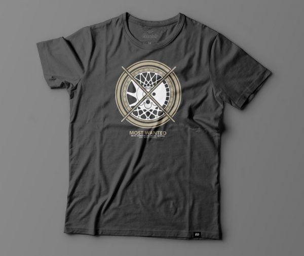 Most Wanted wheels t-shirt by Eurodubs