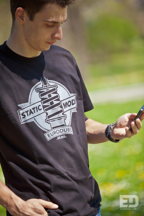 Static Mode t-shirt by Eurodubs