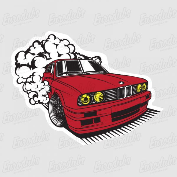 BMW E30 stickers