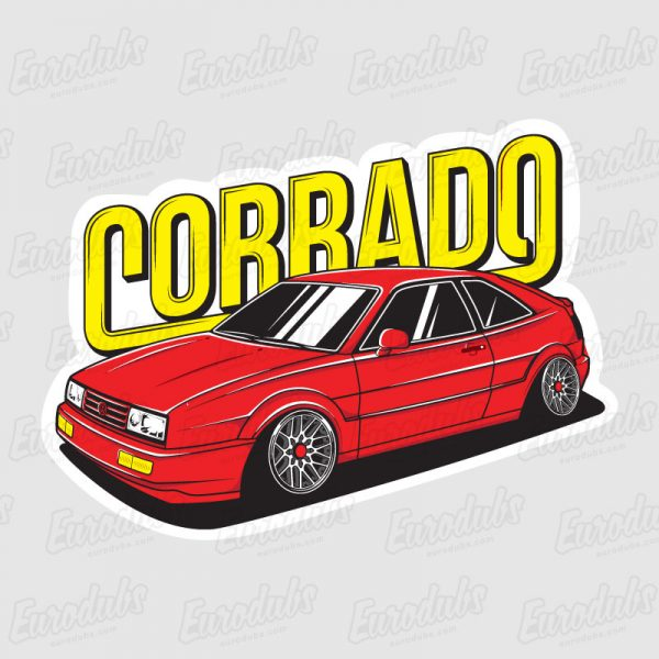 VW Corrado stickers