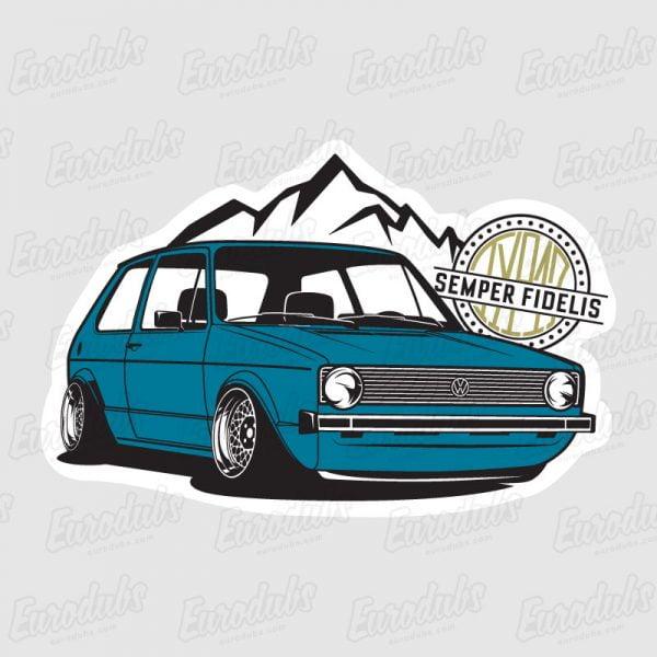 Golf MK1 stickers