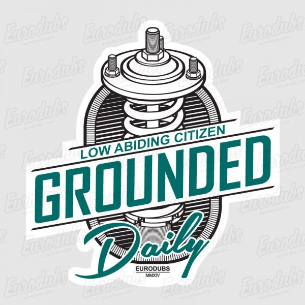 Grounded stickers