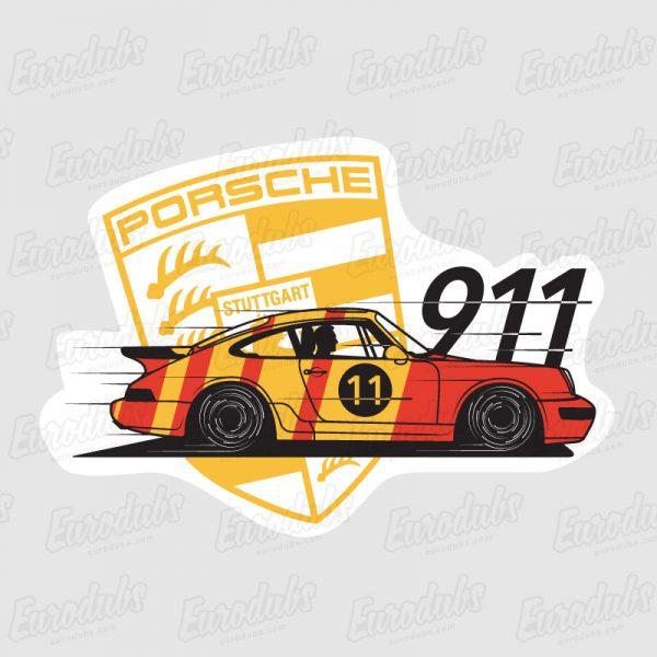 Porsche 911/964 stickers