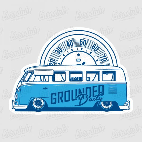 VW T1 - Grounded Daily stickers