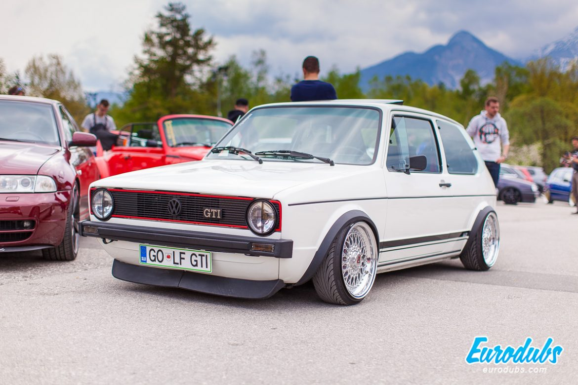 Volkswagen Golf MK1 at Wortherse 2016