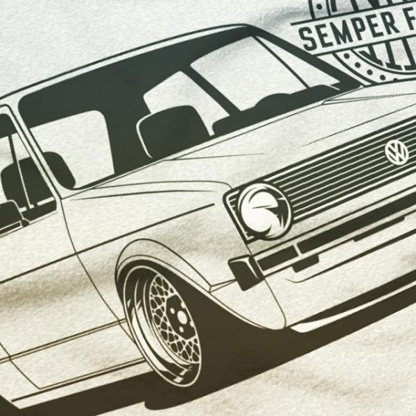 VW Golf MK1 t-shirt - Eurodubs