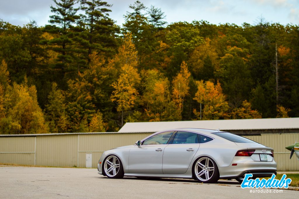 Stanced Luxury Audi A7 from Canada