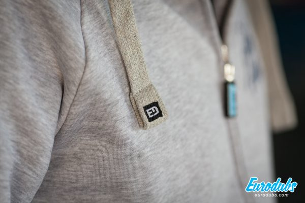 ED labels on PetrolHead hoodie
