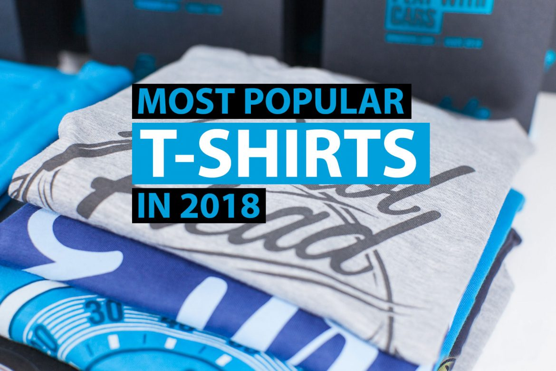 Eurodubs most popular t-shirts in 2018