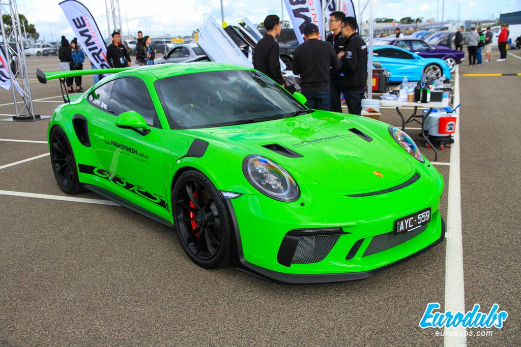 Fitted festival 2019 Melbourne Porsche GT3 RS