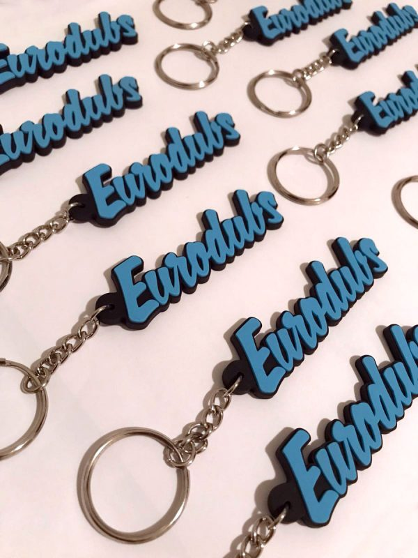 Eurodubs keychain black edition