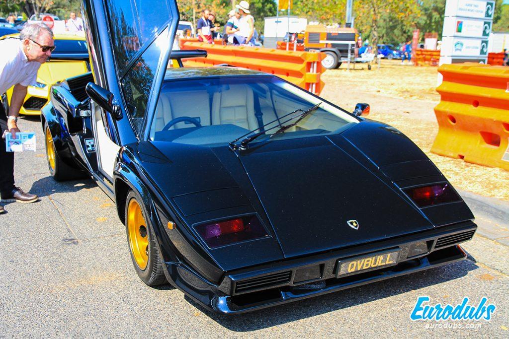 Black Lamborghini Countach