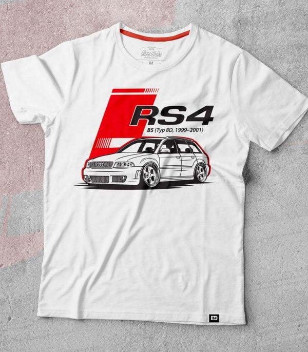 Audi RS4 B5 t-shirt - Eurodubs