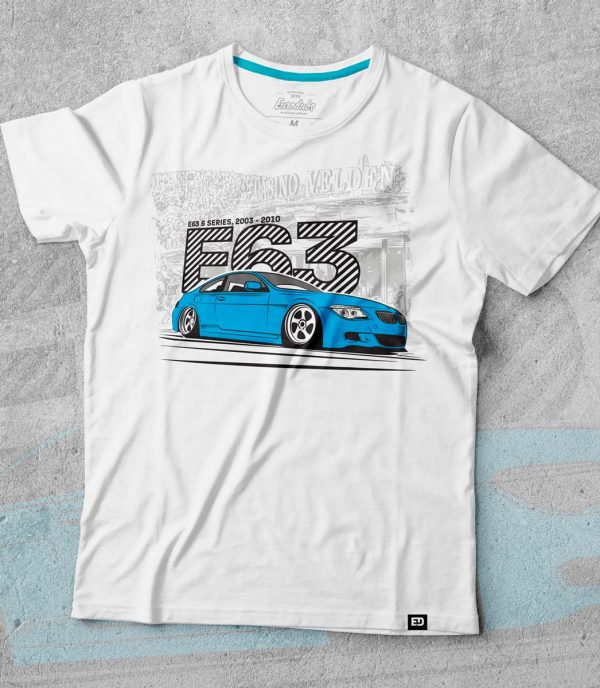 BMW E63 t shirt by Eurodubs