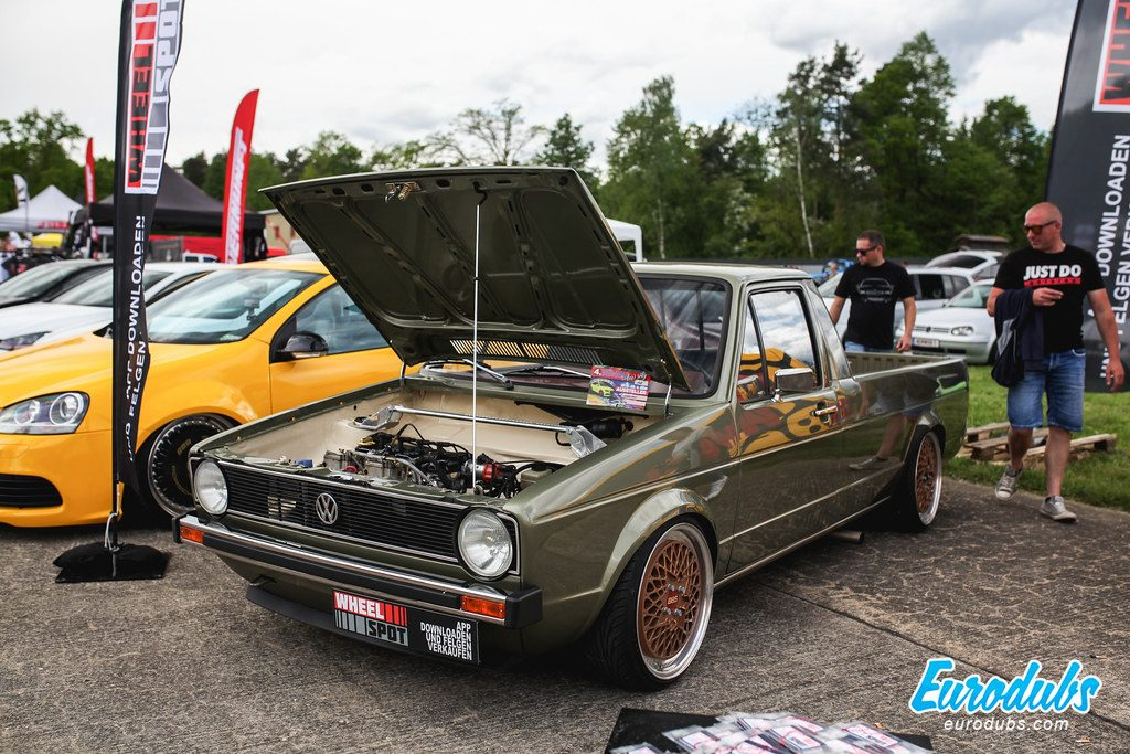 Caddy MK1 on BBS E50, Low Scty 2019, Graz Austria