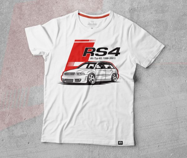 Audi RS4 t shirt by Eurodubs