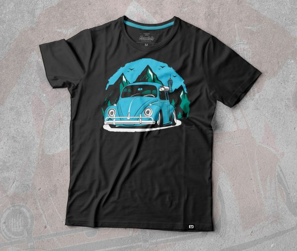 VW Beetle t shirt by Eurodubs