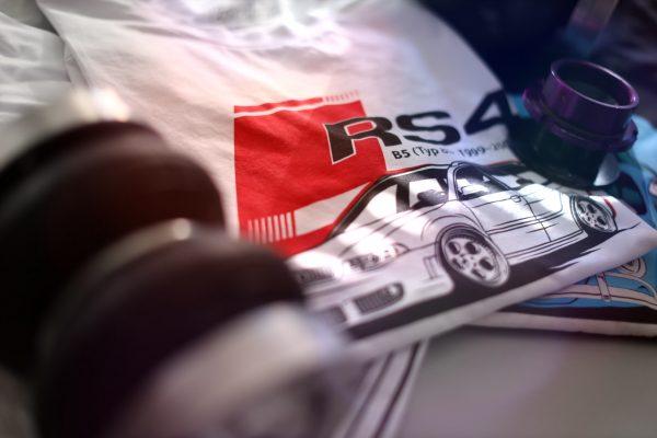Audi RS4 t-shirt Eurodubs