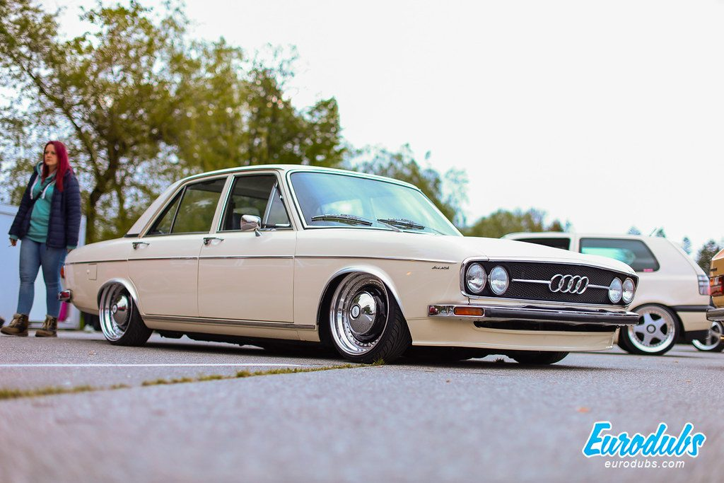 Audi 100 GL, Oldschool beauty stanced