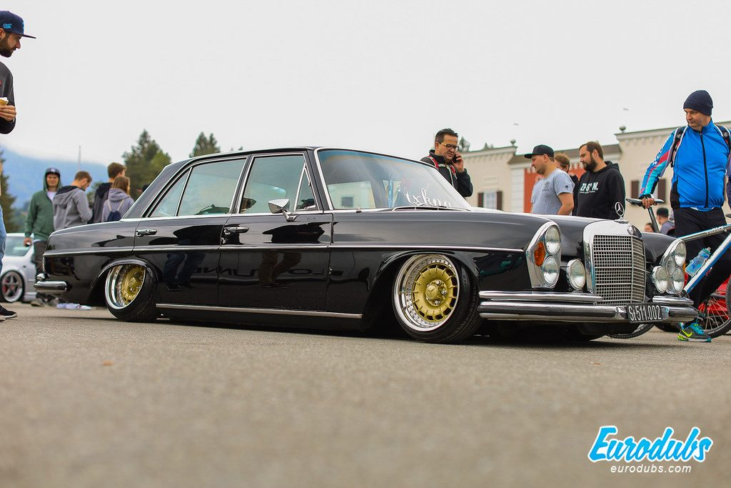 Worthersee 2019 Oldschool-mercedes benz custom wheels