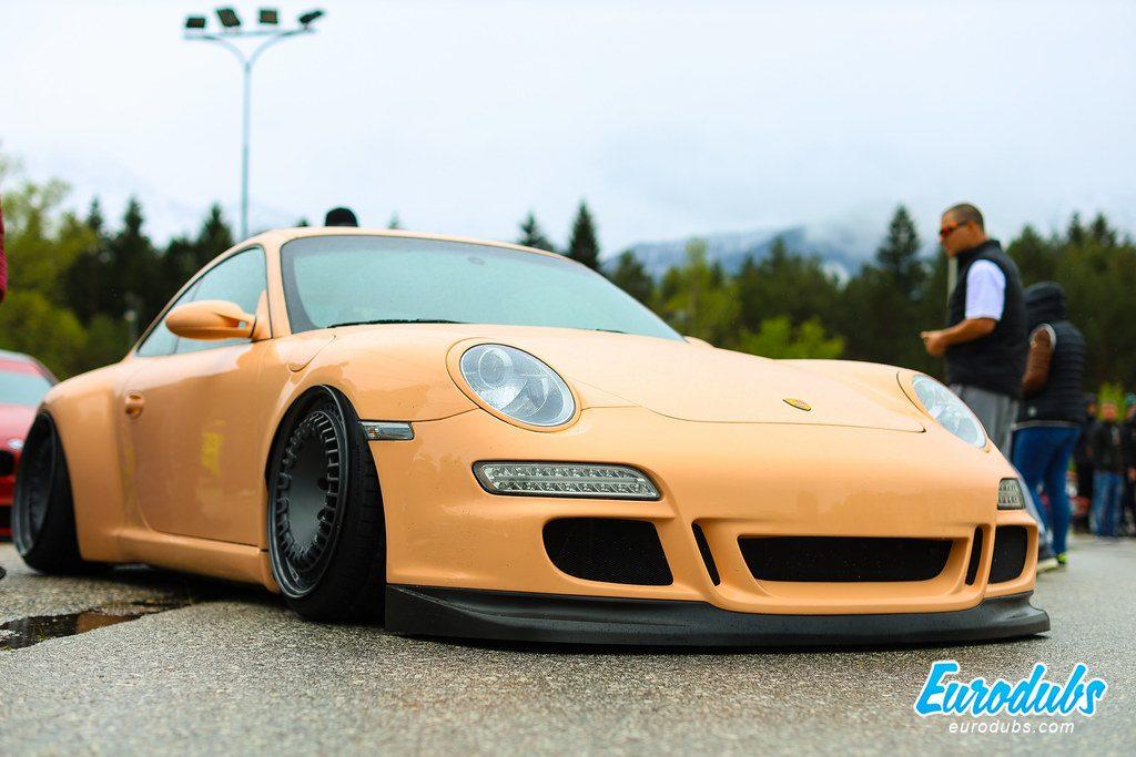 Porsche 997 at Faaker See, Turbokurve Arneitz