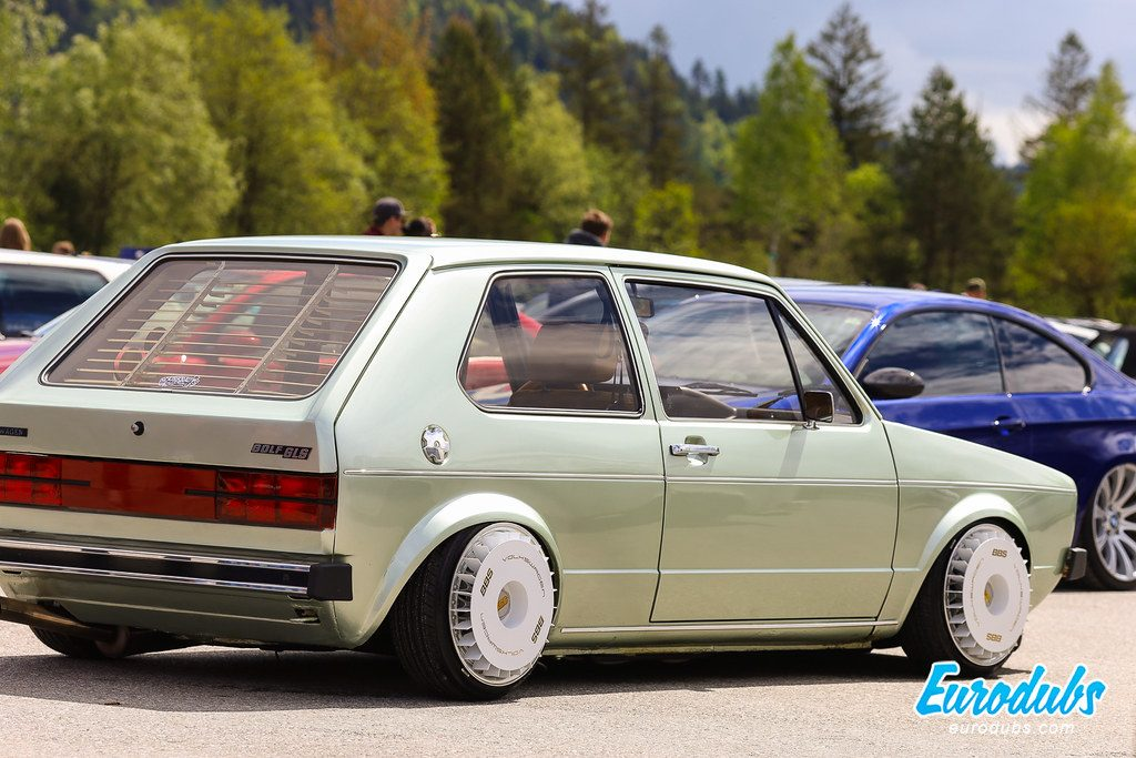 VW Golf MK1 with Turbo Fans