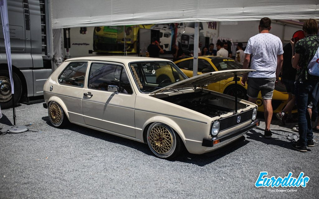 Golf MK1 on BBS E50 17""