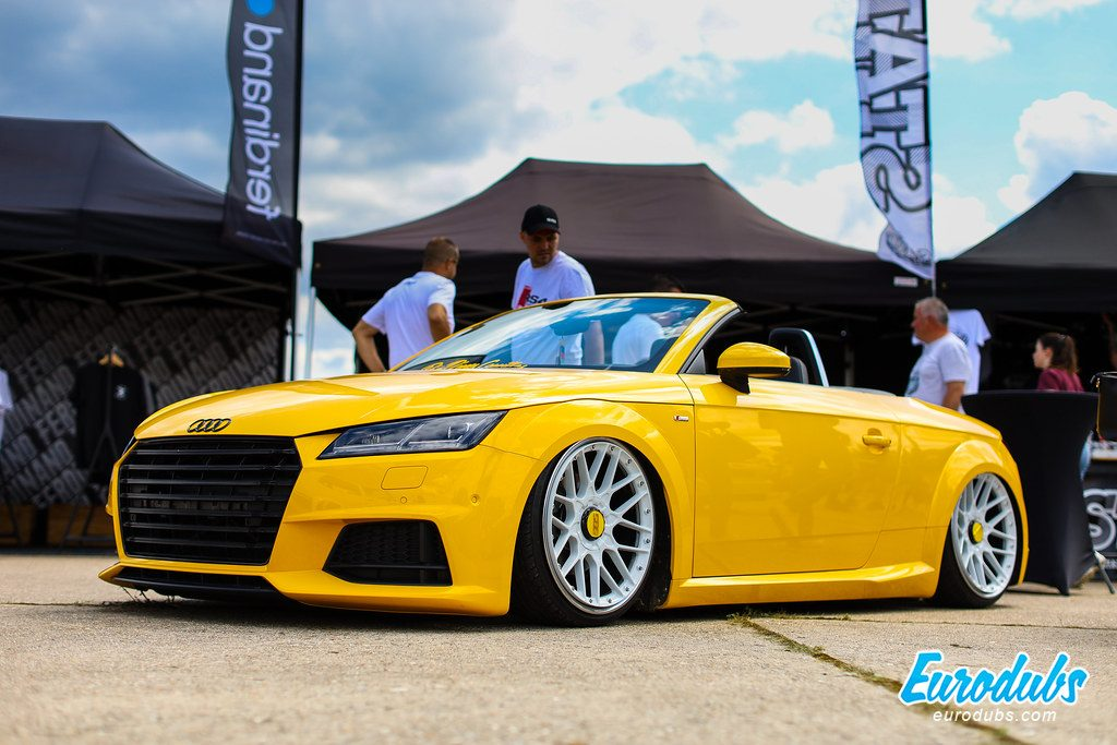 VW Days 2019 - Yellow Audi TT