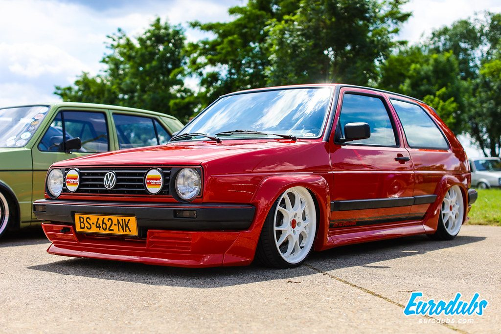 VW Golf MK2 Kamei kit - VW Days 2019