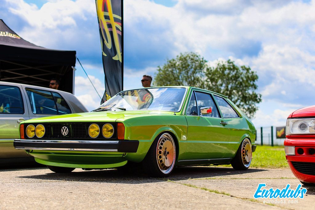 Green VW Scirocco MK1 - VW Days 2019