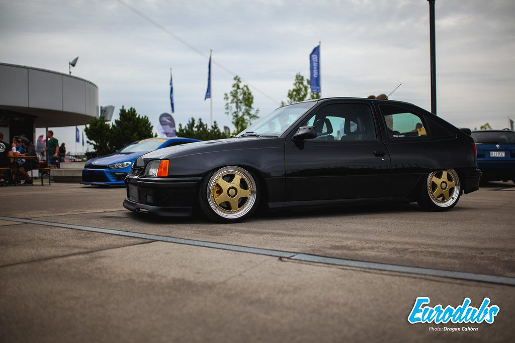 Opel Kadett E on OZ Futura wheels
