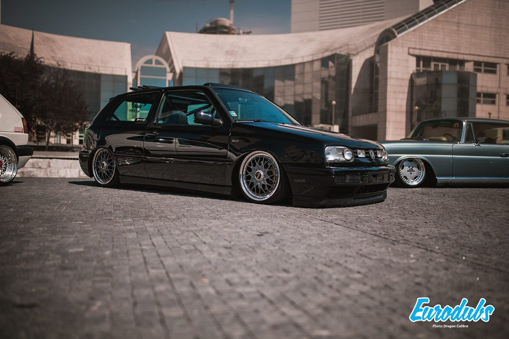 VW Golf MK3 on BBS RC