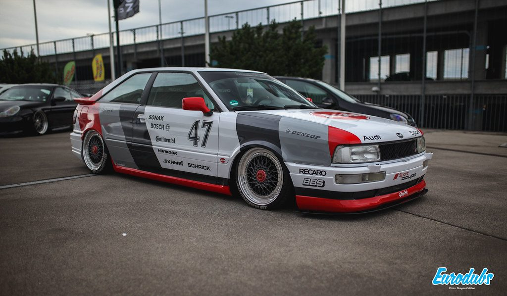 Audi Coupe B2 RACEISM 2019